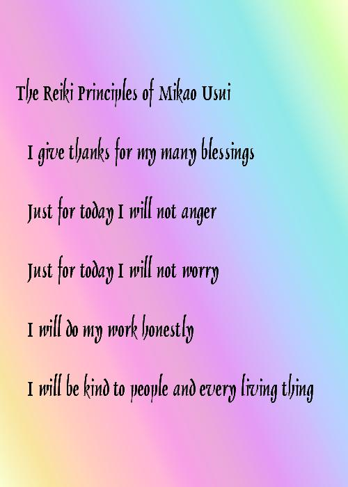 Reiki Principles and Philosophy