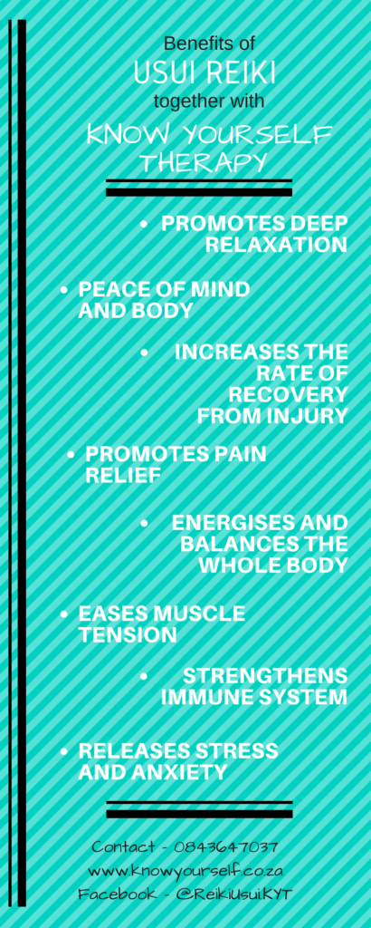 Benefits of Reiki – Infograph