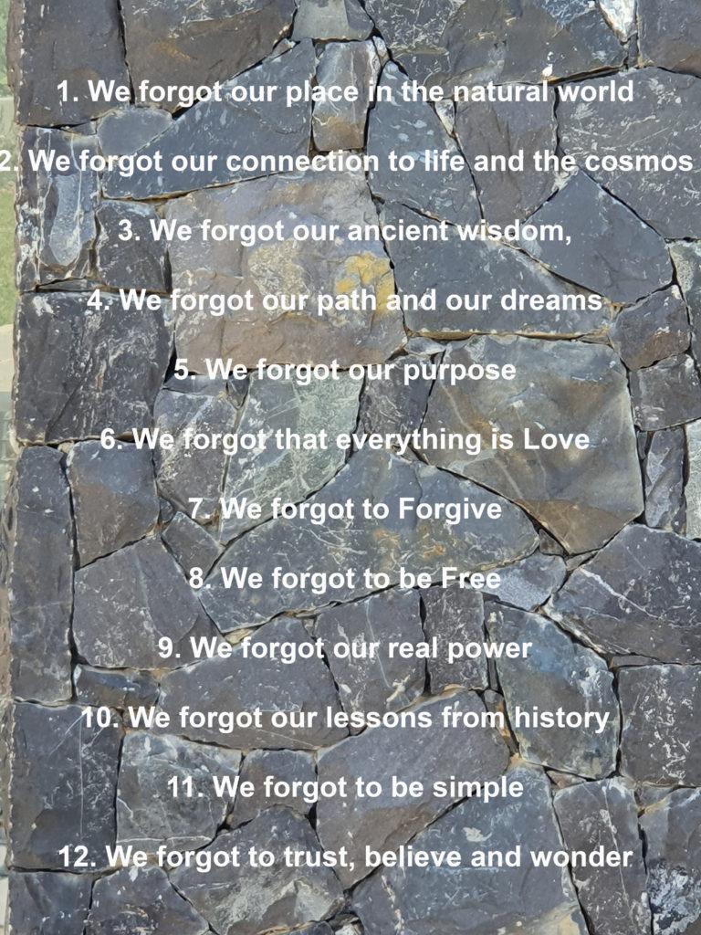 TWELVE FORGOTTEN LIFE SECRETS