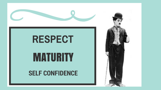 Respect Maturity Self Confidence